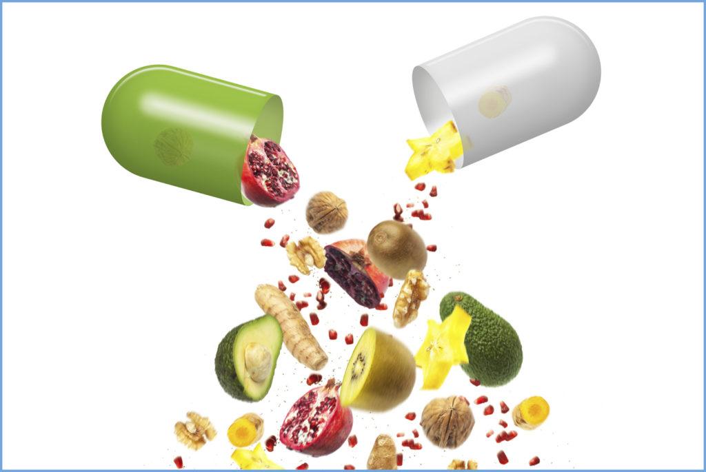 Vitamine, Mineralien, Spurenelemente, Aminosäuren und Fettsäuren